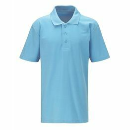 Stowford Primary School Polo Shirt Skyblue