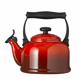 Le Creuset Cerise Traditional Stove Top Kettle 2.1Ltr