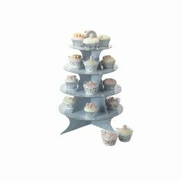 Sweetly Does It 4 Tier Fold Up Card Cake Stand