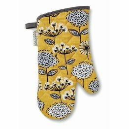 Oven Glove Retro Meadow