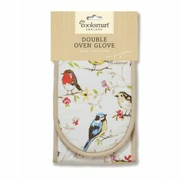 Double Oven Glove Dawn Chorus