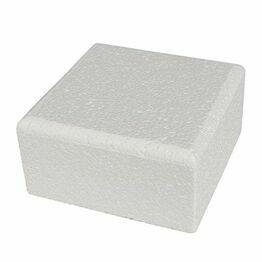 Cake Dummie Square Chamfered 08inch