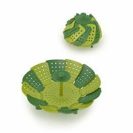Joseph Joseph Lotus Basket Steamer Plus - Green 40023