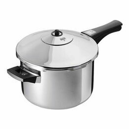 Duramatic Inox Pressure Cooker with Handle 7Ltr 22cm