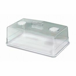 Stewart Cake Tray & Cover Rectangular 35x21x13cm