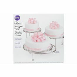 Wilton Cakes'N More 3 Tiered Cake Stand