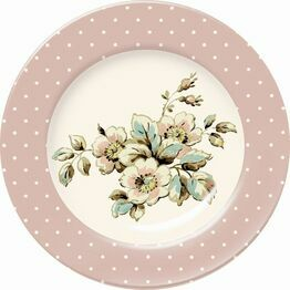 Katie Alice Cottage Flower Floral Spot Side Plate