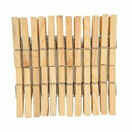 Wooden Clothes Pegs (pack of 24)
