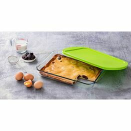 Pyrex Cook & Store Rectangular Roaster with Lid 40x27cm
