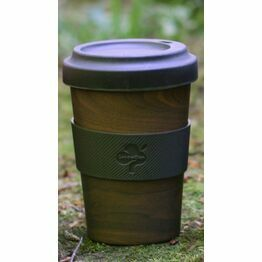 Bamboo Fibre Travel Mug Wood Effect Buy one get one FREE