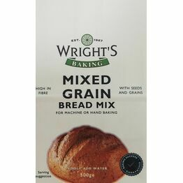 Wrights Mixed Grain Bread Mix 500g