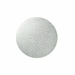 Cake Boards 12mm Drums Round Silver