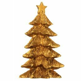 Christmas Fir Tree Gold Large F357