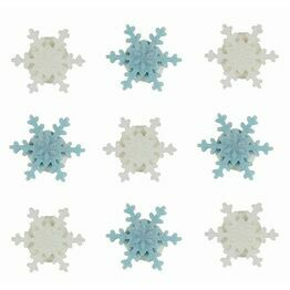 Edible Sugar Pipings Snowflake (9) SFX168