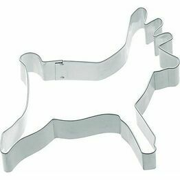 Metal Cookie Cutter Reindeer Shaped 10cm