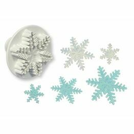PME Snowflake Plunger Cutter Set 3pc SF708