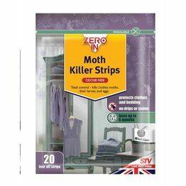 STV Moth killer Strips (pack of 20) ZER429