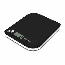 Salter Leaf Electronic Digital Kitchen Scale - Black 1177BKWHDR