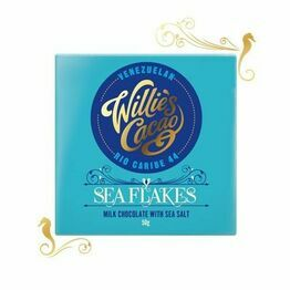 Willies Cacao Seaflakes Milk Chocolate Bar 50g