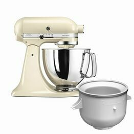 KitchenAid Artisan Stand Mixer Almond Cream KSM125BACICEBUN