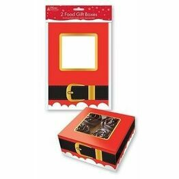 Christmas Cake Box Santa Belt XPABOX
