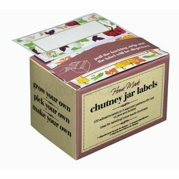 Home Made Pack of 100 Assorted Chutney Jar Label