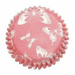 Cupcake Baking Case Blush Butterfly