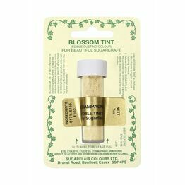 Sugarflair Blossom Tint Dusting Colours - Champagne