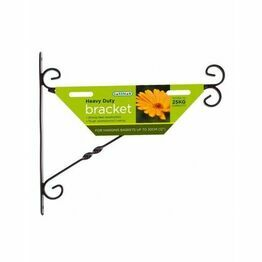 Gardman Heavy Duty Hanging Basket Bracket 25/30cm 03050