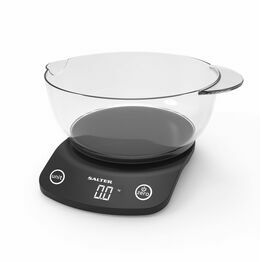Salter Vega Digital Kitchen Scale - Black