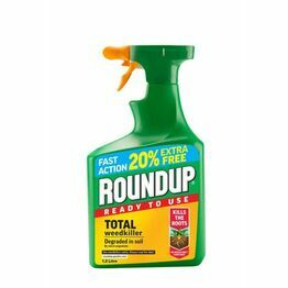 Roundup Fast Action Weedkiller 1ltr + 20% FREE Ready to use