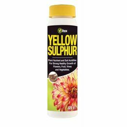Vitax Yellow Sulphur 225g