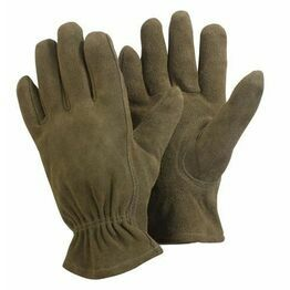 Briers Washable Glove Olive Large  - B0157