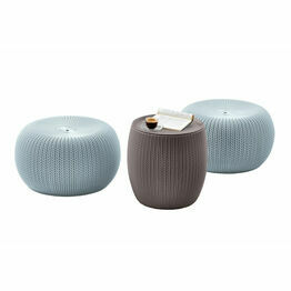 Keter Cozy Urban Table and Chair Set of 3