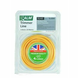 ALM Strimmer Line 2.4mm x 20m Yellow SL004