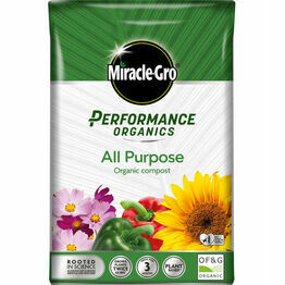 Miracle-Gro Performance Organics All Purpose Compost 40Litre