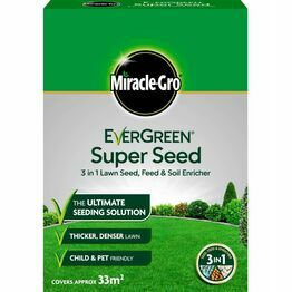 Miracle-Gro EverGreen Super Seed Lawn Seed 1kg