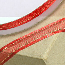 Ribbon Organza Satin Edge 10mm