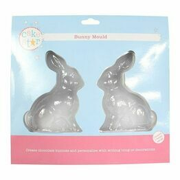 Cakestar Chocolate Easter Bunny Mould