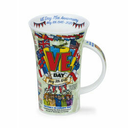 Dunoon Glencoe Fine Bone China Mug - VE Day Anniversary
