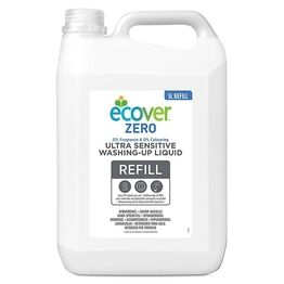 Ecover ZERO Washing Up Liquid 5ltr