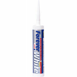Forever White Silicone Sealant 310ml C3 Tube