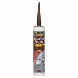 Everbuild External Frame Sealant Brown 310ml C3 Tube