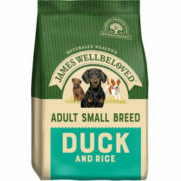 James Wellbeloved Small Breed Adult Duck & Rice 1.5kg