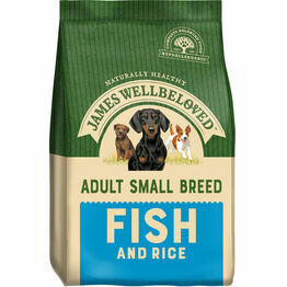 James Wellbeloved Small Breed Adult Fish & Rice 1.5kg