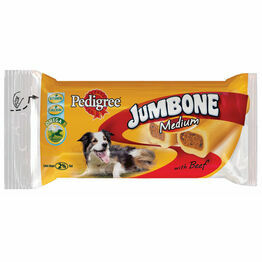 Pedigree Jumbone Medium Dog Beef (2pc)