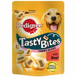 Pedigree Tasty Bites Cheesy Slices 155g