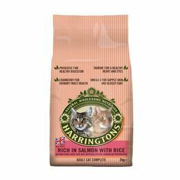 Harringtons Cat Food Salmon & Rice 2kg