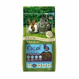 Burgess Excel Rabbit Nuggets Junior & Dwarf 2kg