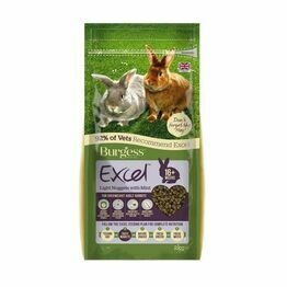 Burgess Excel Rabbit Nuggets Light and Mint 2kg